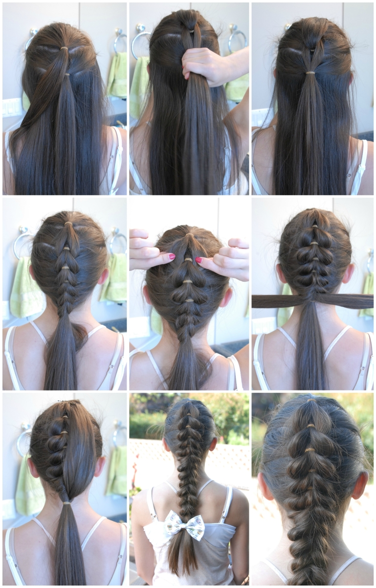 Pull Through Braid Tutorial Hairstyles By Gabby