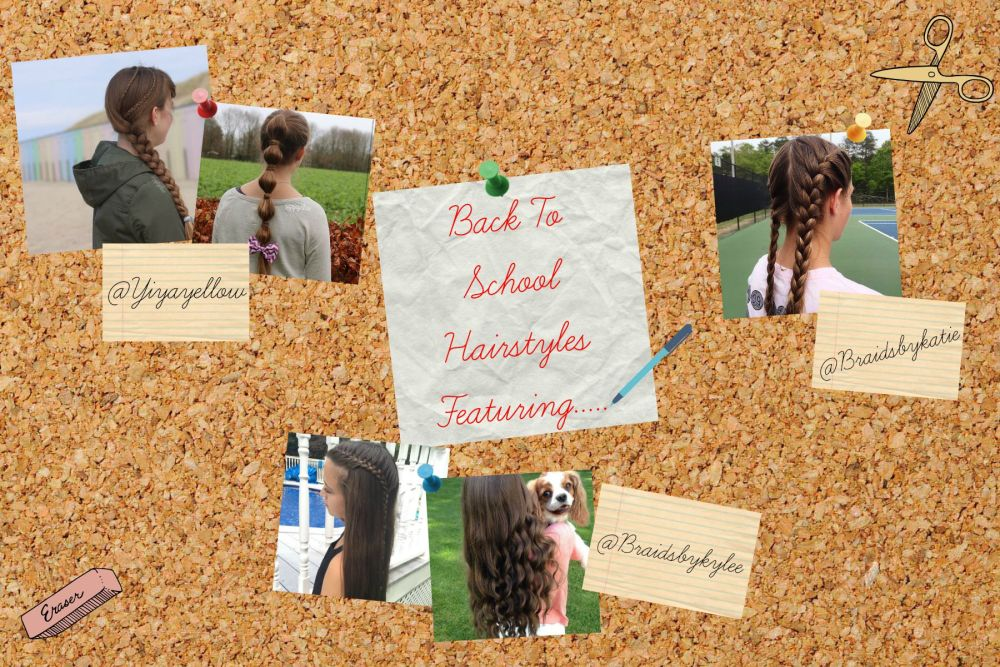 5 Back to School Hairstyles {Featuring other Instagramers} (1/6)